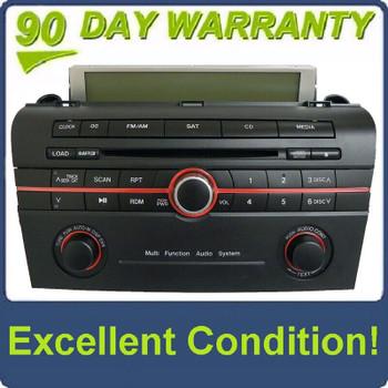 05 06 07 08 09 Mazda 3 Radio CD Player Sat MP3 BAR4 66 AR0