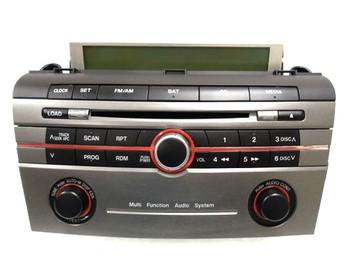 05 06 07 08 Mazda 3 Radio Stereo 6 Disc Changer CD Player