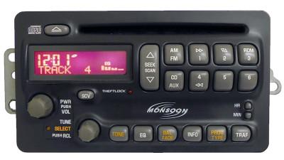 Pontiac Radio CD Player Monsoon Stereo OEM Receiver AM FM