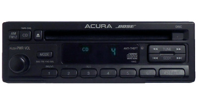Acura 3.0 CL BOSE CD PLAYER RADIO Steering Wheel Controls 1997 1998 1999 97 98 99 39100-SS8-A010, 39100SS8A010