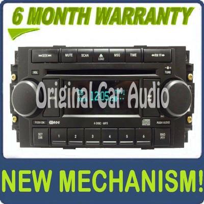 Chrysler Radio MP3 6 Disc Changer CD Player RAQ Receiver OEM
