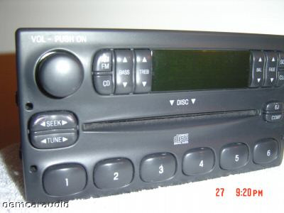 1995 1996 1997 Ford Explorer Ranger Mercury Mountaineer 1998 Navigator Radio CD Player