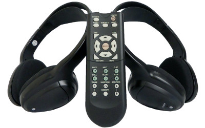2000 - 2019 Ford Edge Expedition Lincoln Navigator Mercury DVD Headsets Remote Control