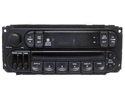 98 99 2000 01 Dodge Jeep Chrysler Radio CD Player