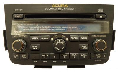 2005 2006 NEW Acura MDX BOSE Radio DVD 6 Disc Changer CD Player Navigation GPS Entertainment 1AF0 1AF2 39100-S3V-A620 39100-S3V-A630 39100-S3V-A640