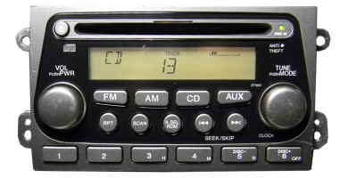 03 04 05 06 Honda Element Radio CD Player IPOD AUX 2TW0 Ho2TW0