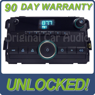 GMC Chevrolet Chevy AM FM Radio Receiver Clock Display