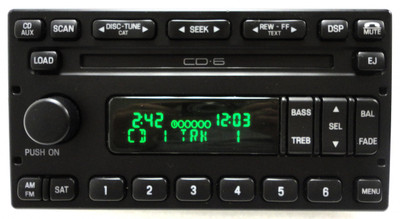 FORD Crown Victoria Escape MERCURY Mariner Grand Marquis Radio Stereo 6 Disc Changer CD Player SAT XM SIRIUS OEM 2003 2004 2005 2006 2007