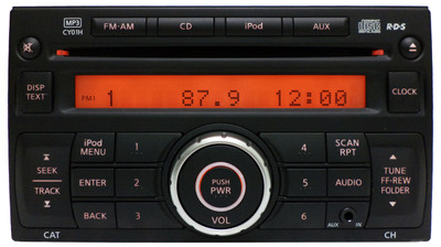 07 08 09 10 11 NISSAN Versa Rogue Cube Xterra Radio Stereo CD MP3 Player AUX Ni221