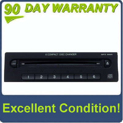 05 06 07 08 09 Honda Odyssey In Dash 6 Disc CD Changer MP3 WMA Player 2005 2006 2007 2008 2009