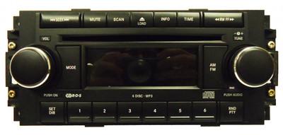2005 - 2008 Chrysler OEM Radio 6 Disc Changer MP3 CD Player RAQ Stereo Reciever