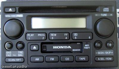 Honda S2000 Prelude Del Sol Radio And CD Player 1998-2005