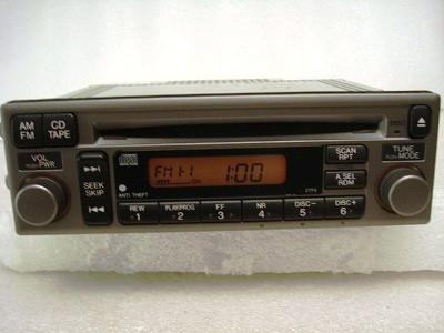 2002 - 2003 Honda S2000 Radio and  CD Player