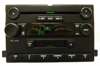 FORD Focus Freestar F250 F350 MERCURY Monterey Radio CD Cassette Tape Player 2005 2006 2007