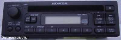 1996 - 1998 and 2000 Civic Radio and CD  Player