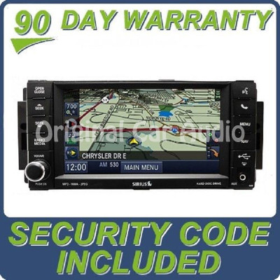 Jeep Dodge Chrysler OEM MyGig Navigation Satellite Radio CD DVD Player Low Speed CAN BUS RHR