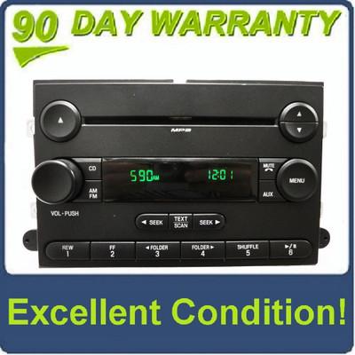 06 07 08 09 10 FORD Explorer Sport Trac MERCURY Mountaineer Sirius Satellite Radio MP3 Disc CD Player