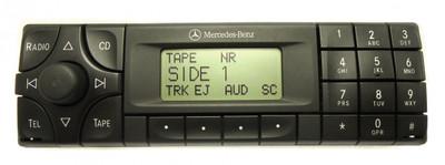 MERCEDES BENZ E320 E420 (E and C Class) Panasonic Radio and Tape Player 1999 2000 2001 2002 C220, C230, C280, E320, E420, E500, CLK320, SLK230  CM1910 , CM2299
