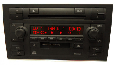 2002 2003 2004 Audi A4 S4 6 Disc CD Changer Player Radio Bose 8E0 035 195 A