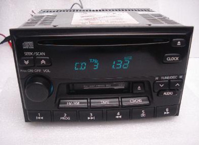 Nissan Altima Maxima Sentra Radio Tape and CD Player 1995 96 97 98 99 2000 2001