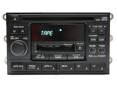 Nissan Xterra 200SX Altima Radio And CD Player 1995 96 97 98 99 2000 2001