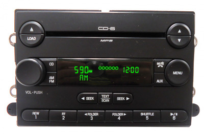07 2007 Ford F150 F-150 Pickup AM/FM 6 Disc Changer MP3 CD Player 7L3T-18C815-LA
