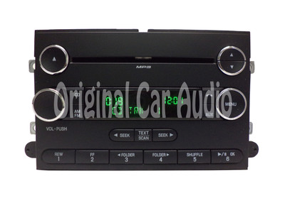 2007 - 2013 Ford Expedition OEM AM FM Radio MP3 AUX Stereo CD Player Receiver