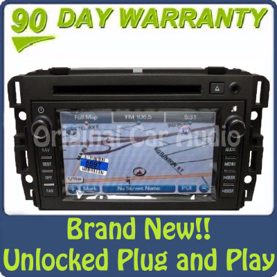 Buick Lucerne OEM Navigation Radio GPS CD DVD Player