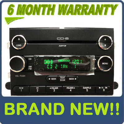NEW 2006 - 2013 FORD F-150 F150 LINCOLN Mark LT Truck Radio Stereo 6 Disc Changer MP3 CD Player