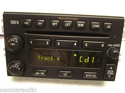 03 04 05 06 Kia SORENTO Radio AM FM CD Player Stereo