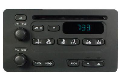 Chevy Pontiac Radio Stereo CD Player AM FM Receiver OEM
