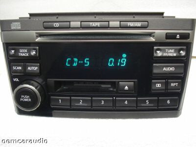 Nissan Maxima Radio Tape CD Player PN-2431D CR120 2000 01 02 2003