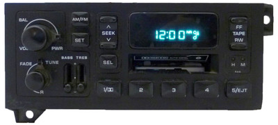 Used 96 97 98 99 2000 01 Jeep Dodge Chrysler Radio Cassette Player Ch185