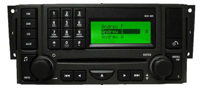 2005 - 2009 Land Rover LR3 OEM Radio Receiver 6 Disc CD Changer Stereo OEM