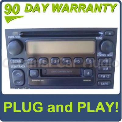 Toyota 4Runner Camry JBL Radio Tape CD Player 16815 OEM
