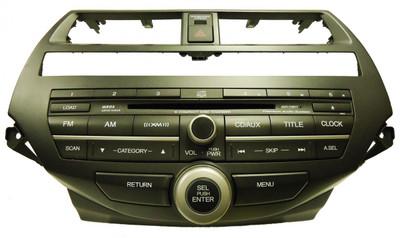 2008 2009 2010 2011 Honda Accord XM Radio AUX MP3 WMA 6 Disc CD Changer  w/Trim 3PB0