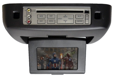 03 04 05 06 07 Lincoln Navigator Ford Expedition DVD Player Screen Rear Entertainment BLACK