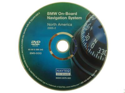 BMW Navigation Map Disc Version 2005-2 S0001-0075-502