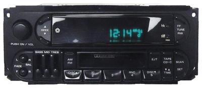 98 99 2000 01 02 Chrysler Dodge Jeep Radio Cassette