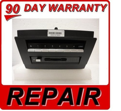 07 08 09 OEM MERCEDES BENZ S550 S600 S65 S63 6 CD DVD Changer REPAIR SERIVCE FIX