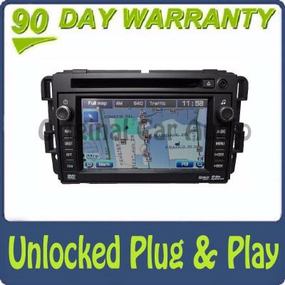 Unlocked 2010 - 2011 GMC Chevrolet OEM Navigation Radio CD Player Stereo Receiver