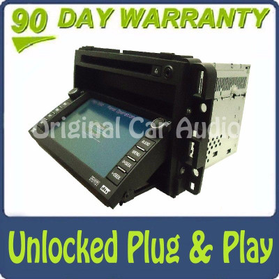 2007 - 2009 07 09 GMC Chevy Navigation Radio GPS CD DVD Player OEM Stereo