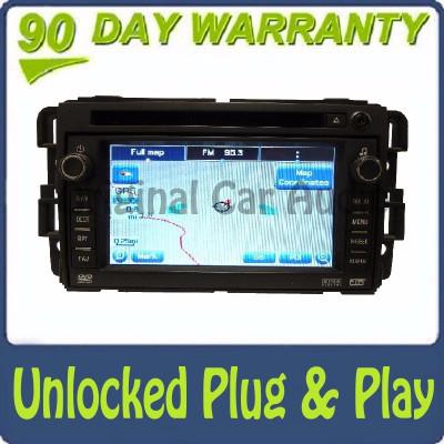Unlocked GMC Hummer Chevy Radio Navigation CD Player Stereo