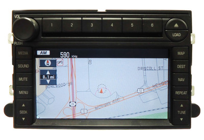 06 2006 Ford FREESTYLE Navigation GPS 6 CD Radio Changer