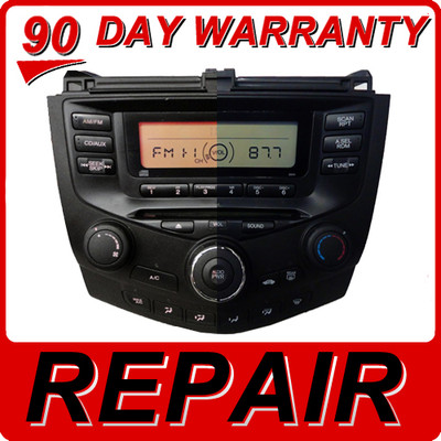 03 04 05 06 07 Honda Accord Radio and CD Player MOTHER BOARD Repair