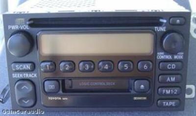 Toyota Radio Tape and CD Player AD6803 86120-08110