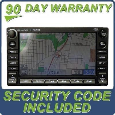 2006 - 2008 Honda CIVIC HYBRID OEM XM Satellite Radio NAVI GPS Disc CD Changer