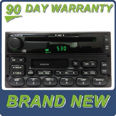 NEW 1998 - 2005 Ford / Lincoln / Mercury Radio CD player