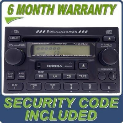 BRAND NEW Honda Radio Tape and 6 Disc CD Changer OEM