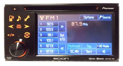 SCION tC Pioneer HD Radio Stereo CD Player PT546-00121